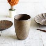 水野幸一 銅彩釉ビアカップ
