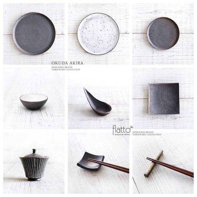 奥田章の和食器