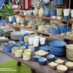 清水焼の郷まつりのトキノハの和食器