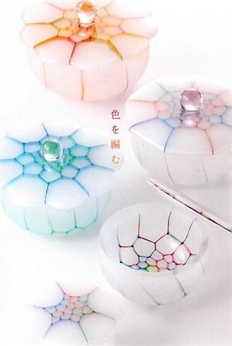吉村桂子の展示会「色を編む」