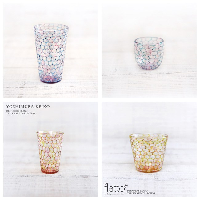 吉村桂子さんのガラス作品