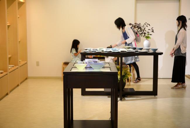 杉原万理江さんの展示会(ソフォラ)