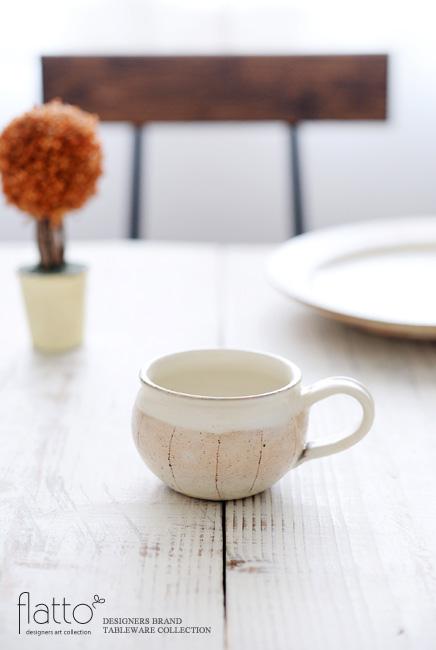 古谷浩一:たて鉄線コーヒーカップ