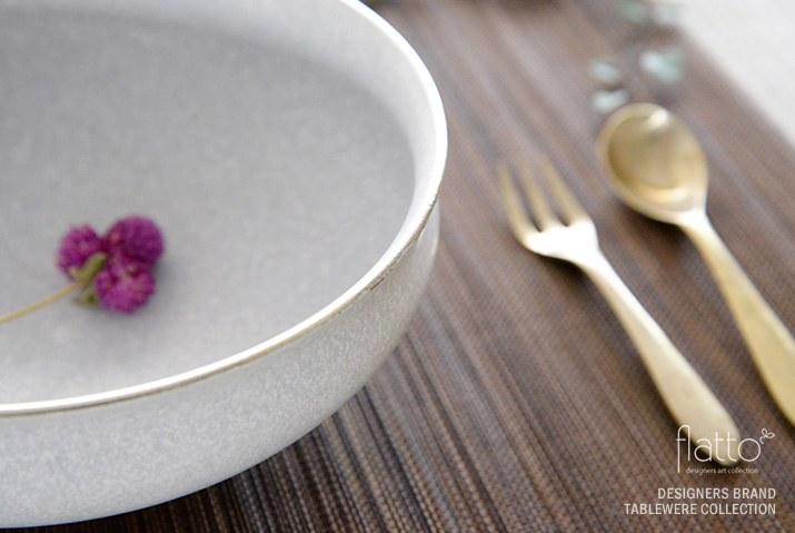 作家「東一仁」の和食器 チタン鉢6寸