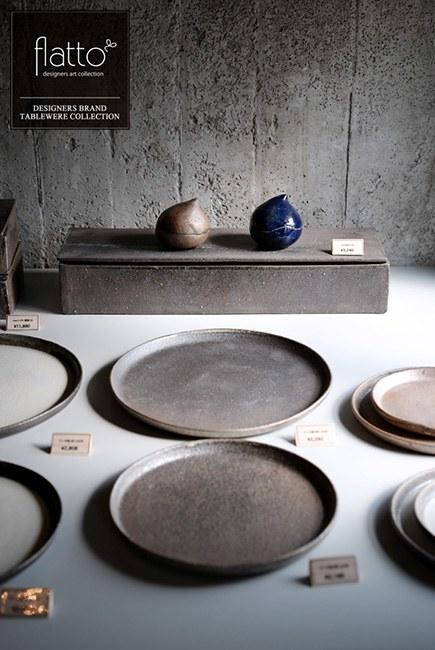 陶芸作家「奥田章」さんの「ケーキ皿」