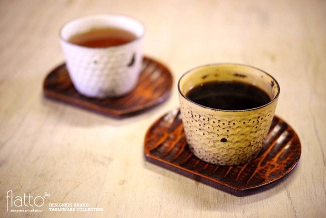 武曽健一さんのカップでコーヒー