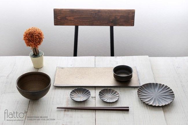 水野幸一の銅彩釉角長皿