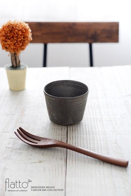 トキノハ 「shiro-kuro 蕎麦猪口カップ(黒)」