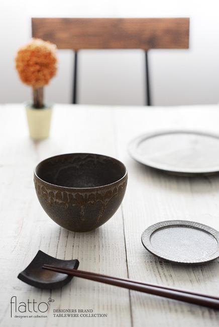 トキノハ「shiro-kuro碗(4・黒)」