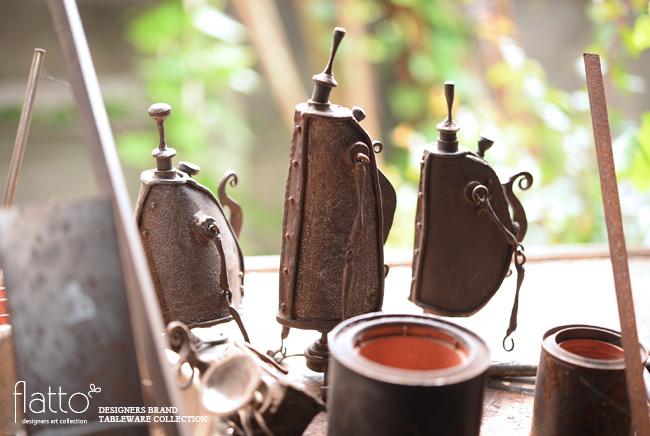 羽生直記さんのオイルランプ