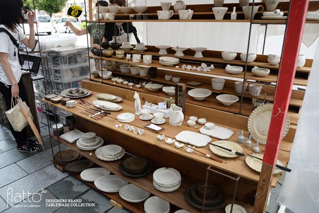 五条坂陶器祭りの村上直子さんブース