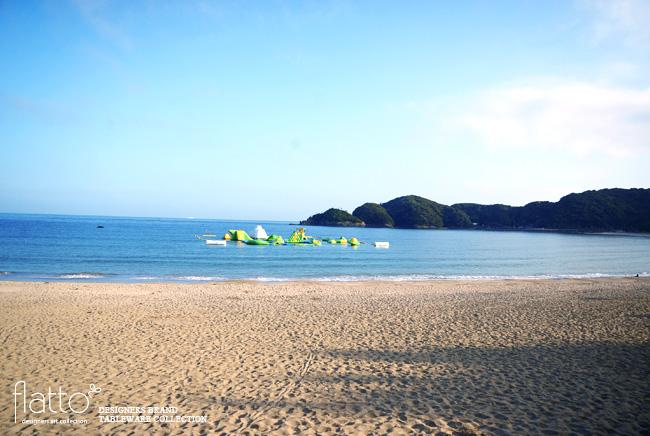 南伊豆の弓ヶ浜ビーチ