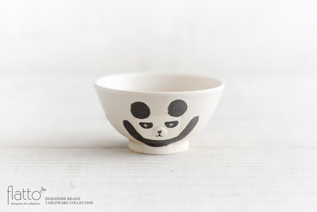宮崎孝彦さんのお子茶碗(パンダ)