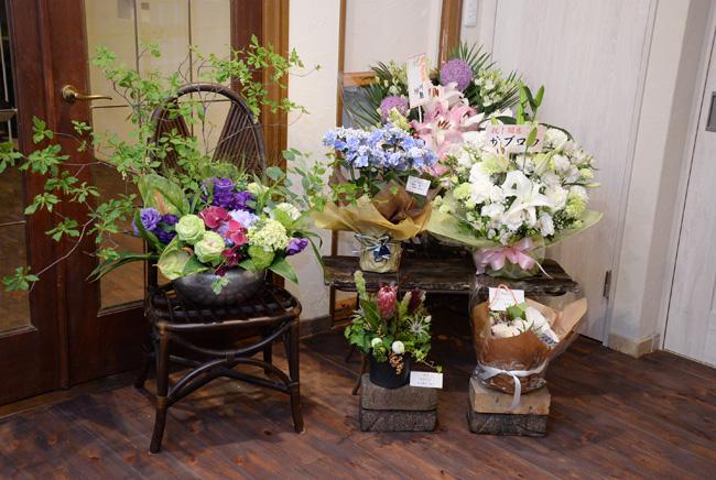 開店祝のお花