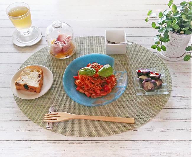 Oさまの和食器を使った食卓01