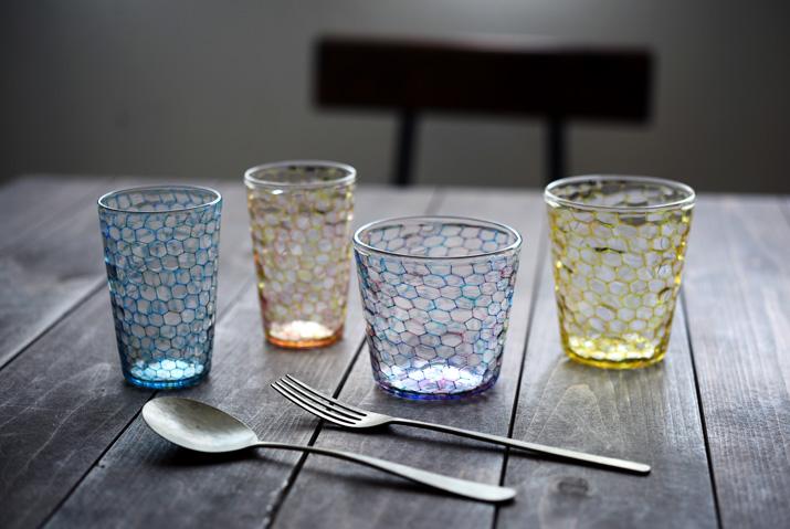 吉村桂子さんのイロアミグラス