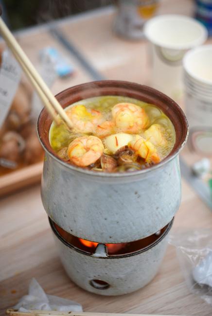陶器のうつわで作るスペイン料理・オジャ
