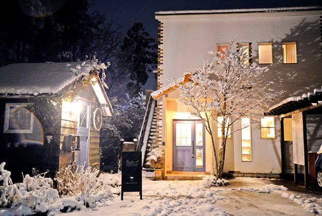 雪の降る和食器セレクトショップflatto(フラット)