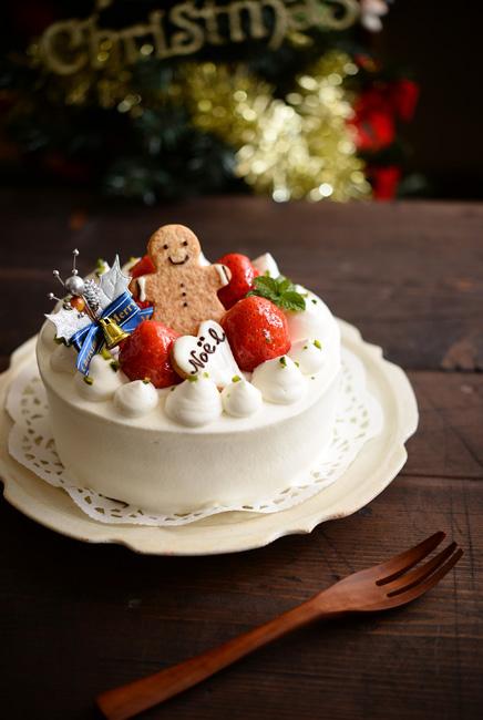 古谷浩一さんの和食器クリスマスケーキ