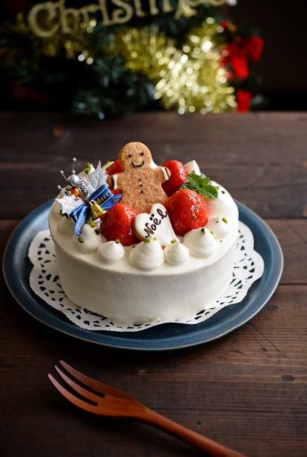 トキノハさんの和食器クリスマスケーキ