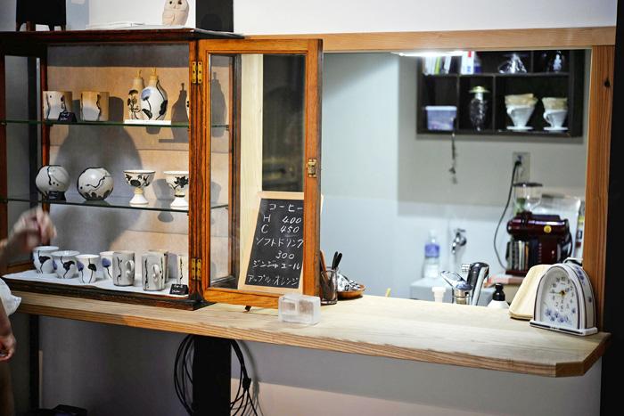 町家 Gallery cafe 龍のカフェスペース