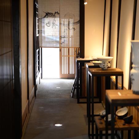 町家 Gallery cafe 龍の玄関