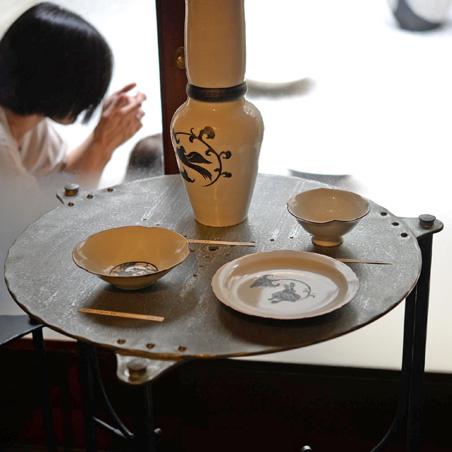 町家 Gallery cafe 龍のギャラリー内