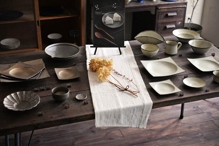 水野幸一さんの和食器