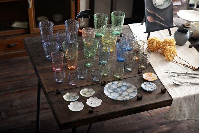 吉村桂子さんのガラス